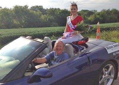 Miss Iowa in Tug Fest Parade