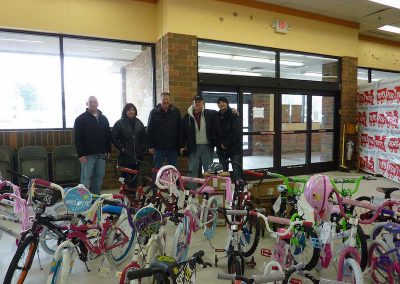 Toys For Tots Bike Donation