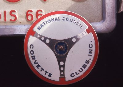 NCCC Badge at Road America 1966