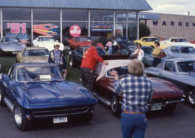 MWC 1980-11 #02 - At Warren Chevrolet for Club Photo