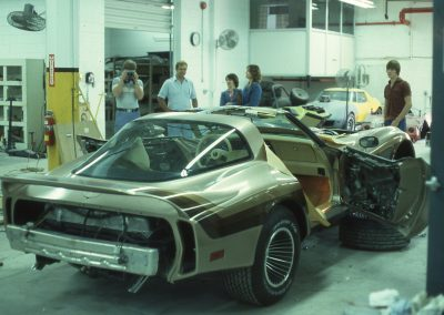 MWC 1981-01 #09 - At Eckler's Corvette Parts - Milan