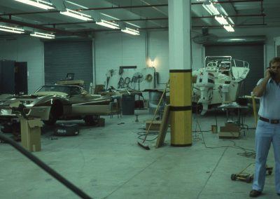 MWC 1981-01 #11 - At Eckler's Corvette Parts (Ralph on phone)