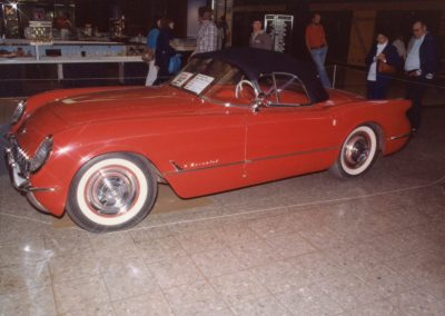 MWC 1982-04 #01 - South Park Mall Corvette Show - 1954 Corvette