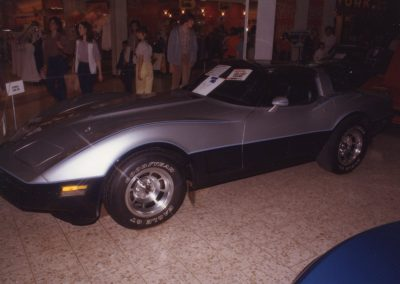 MWC 1982-04 #10 - South Park Mall Corvette Show - 1981 Corvette