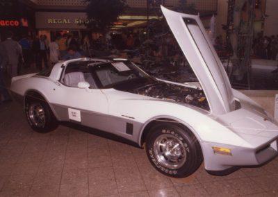MWC 1982-04 #17 - South Park Mall Corvette Show - 1982 Corvette Dave Pfitzenmaier