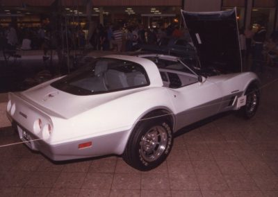 MWC 1982-04 #18 - South Park Mall Corvette Show - 1982 Corvette Dave Pfitzenmaier