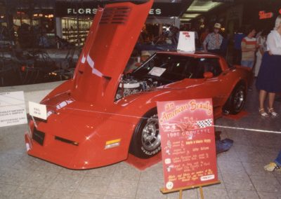 MWC 1982-04 #21 - South Park Mall Corvette Show 1980 Corvette - Merle & Marcia Keppy's