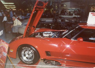 MWC 1982-04 #22 - South Park Mall Corvette Show 1980 Corvette - Merle & Marcia Keppy's