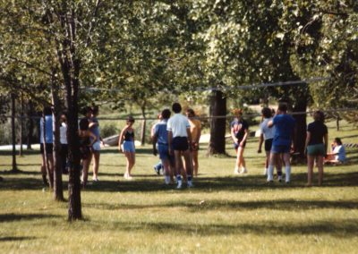 MWC 1982 - Pig Roast - Volley Ball