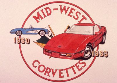 MWC 1985-07 #28 - 25th Anniversary Logo & Prints created by Paul Castle