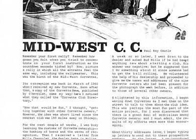 MWC doc NCCC Blue Bars Vol 3 No 1 Winter 1964 pg 12 - Paul Castle MWC Article