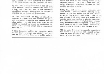 MWC doc NCCC Blue Bars Vol 3 No 1 Winter 1964 pg 13 - Paul Castle MWC Article
